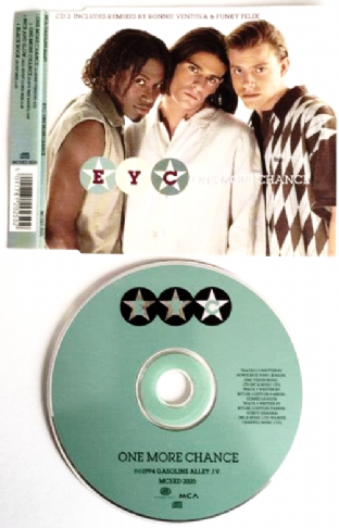 E.Y.C. ‎- One More Chance (CD Single Pt 2) (EX/EX)